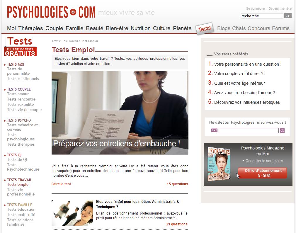 tests en ligne career consultants cabinet de coaching et de gestion de carri re. Black Bedroom Furniture Sets. Home Design Ideas